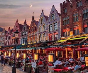 architecture, belgium, and travel image