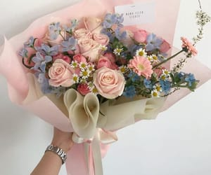 bouquet, flowers, and style image