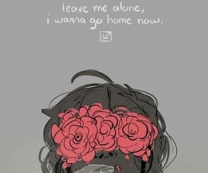 alone, safe, and depression image