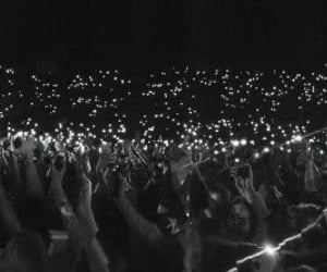 concert, crowd, and twitter image