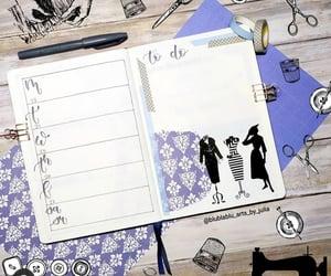 agenda, daily log, and bujo image