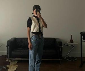 blue denim jeans image
