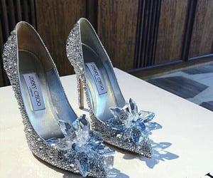 cinderella, shoes, and diamond image