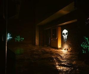 black, candlelight, and dark image