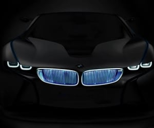 black, bmw, and cars image