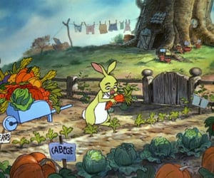 animation, rabbit, and disney image
