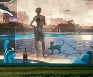 afternoon, futuristic, and pool image