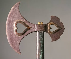axe, vintage, and warrior image