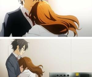 anime, horimiya, and kyoko hori image