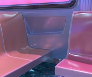 aesthetic, pink, and wallpaper image