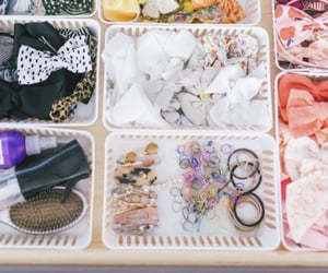 accessories, organisation, and hair image