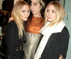 Amy Winehouse, ashley olsen, and mary kate olsen image
