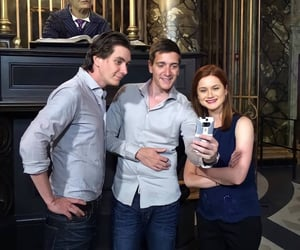 james phelps, oliver phelps, and bonnie wright image