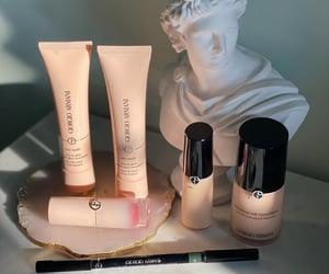 Armani, beige, and lipgloss image