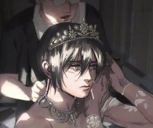 anime, mikasa, and anime girl image