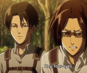 anime, shingeki no kyojin, and scene image
