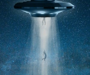 ufo, abduction, and aliens image