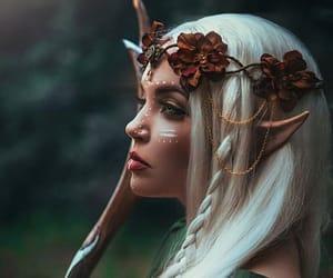 elf, fantasy, and magic image