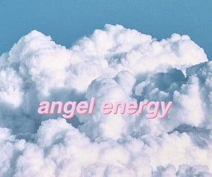 blue, angel, and message image