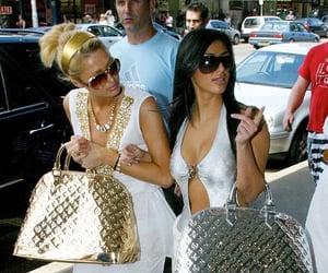 paris hilton and kim kardashian image