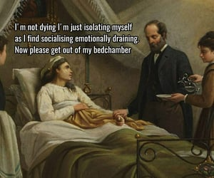 art, funny, and introvert image