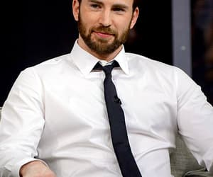 chris evans, celebrities, and handsome image