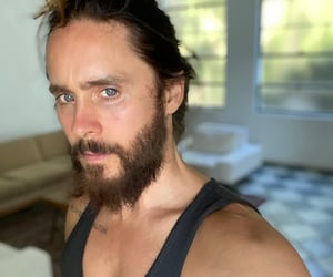 30 seconds to mars, haircut, and jared leto image
