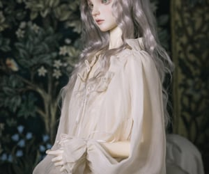 aesthetic, soft, and fashion doll image