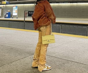 chanel bag, nike sneakers, and outfit of the day ootd image