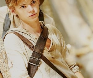actor, thomas brodie, and mazerunner image