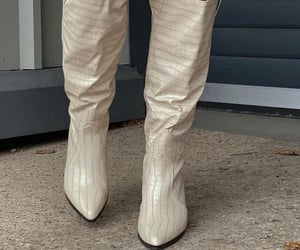 cowboy boots, everyday look, and fashionista fashionable image