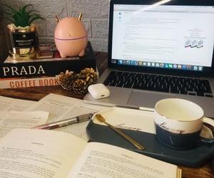 bb, coffee, and Prada image