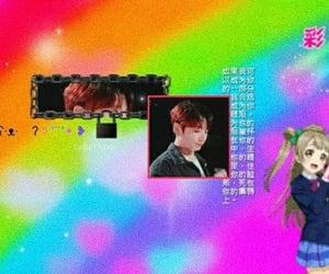anime, profile, and rainbow image
