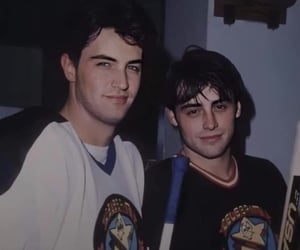 friends, Matt LeBlanc, and Matthew Perry image
