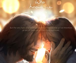 jesus, bible verses, and jesus loves you image