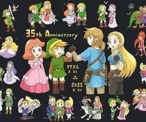 nintendo, video games, and zelda image