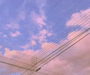 aesthetic, sky, and soft image