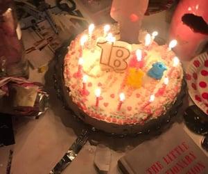 aesthetic, cake, and birthday image