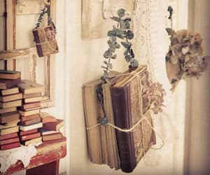 room, books, and bookworm image