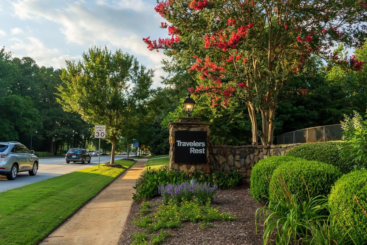 South Carolina and travelers rest image