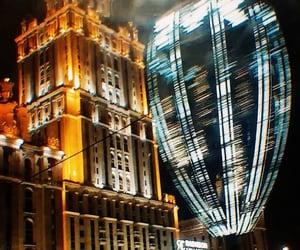 lights and night city image