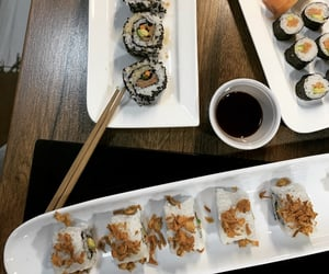 japanese, sushi, and asianfood image
