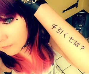 alt, tattoo, and indie fashion image