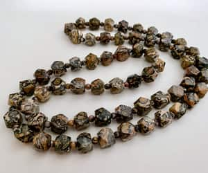 etsy, vintage jewelry, and gemstone necklace image
