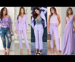 color, fashion, and lavanda image
