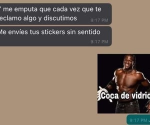 chat, stickers, and humor image