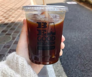 coffee, spring, and japan image