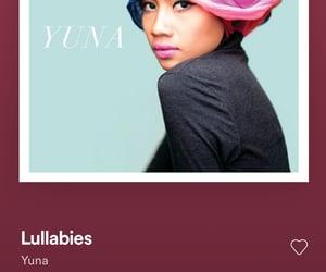 Lyrics, music, and yuna image