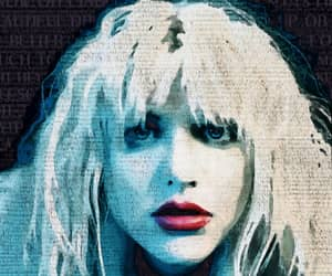 art, Courtney Love, and drawings image
