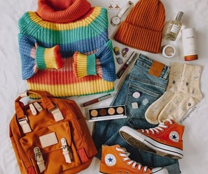 backpack, beanie, and turtleneck image